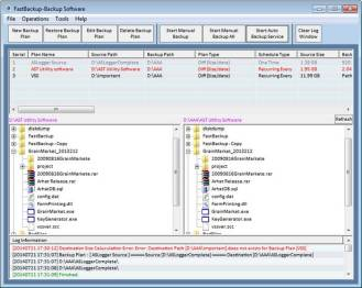 FastBackup Screenshot