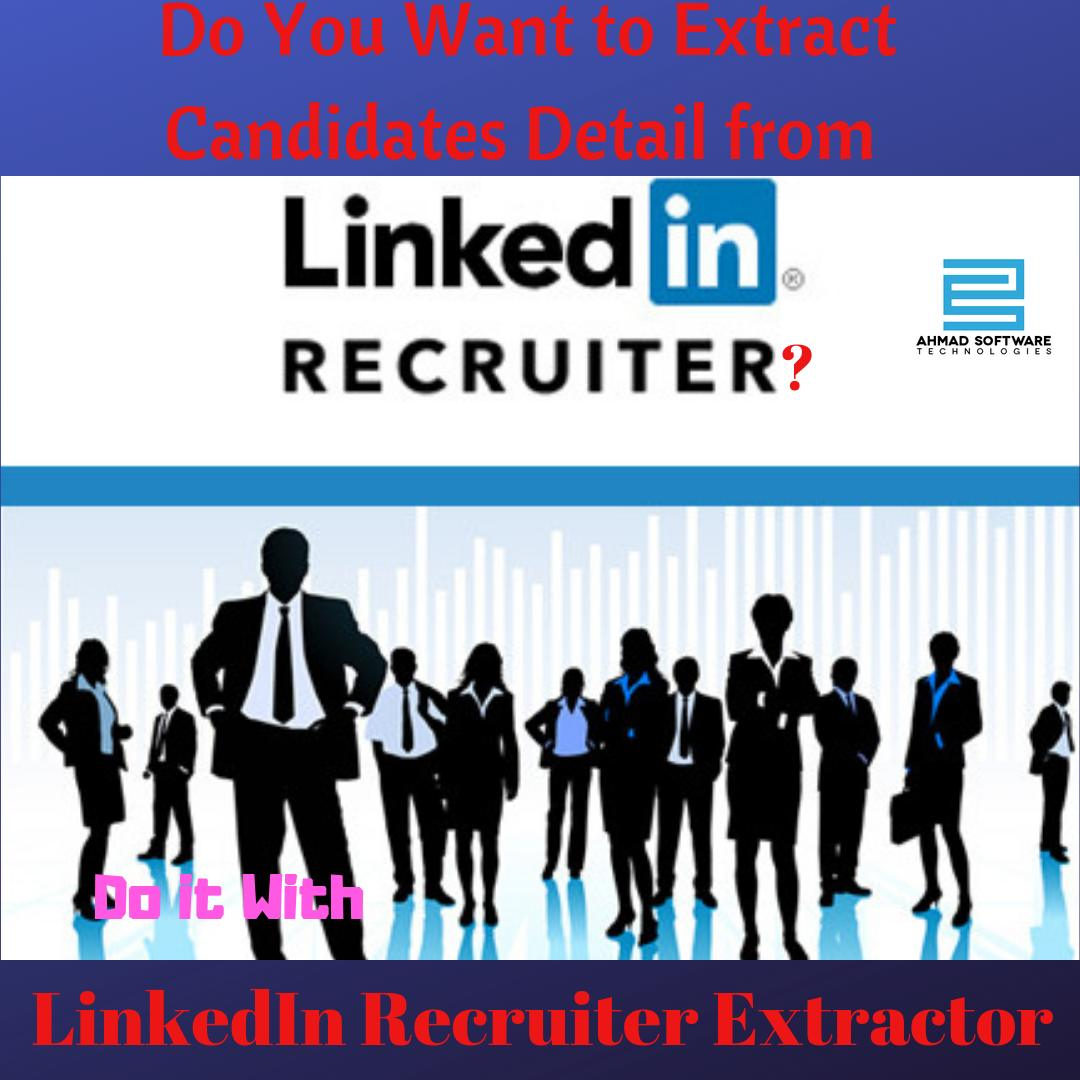 LinkedIn Recruiter Extractor