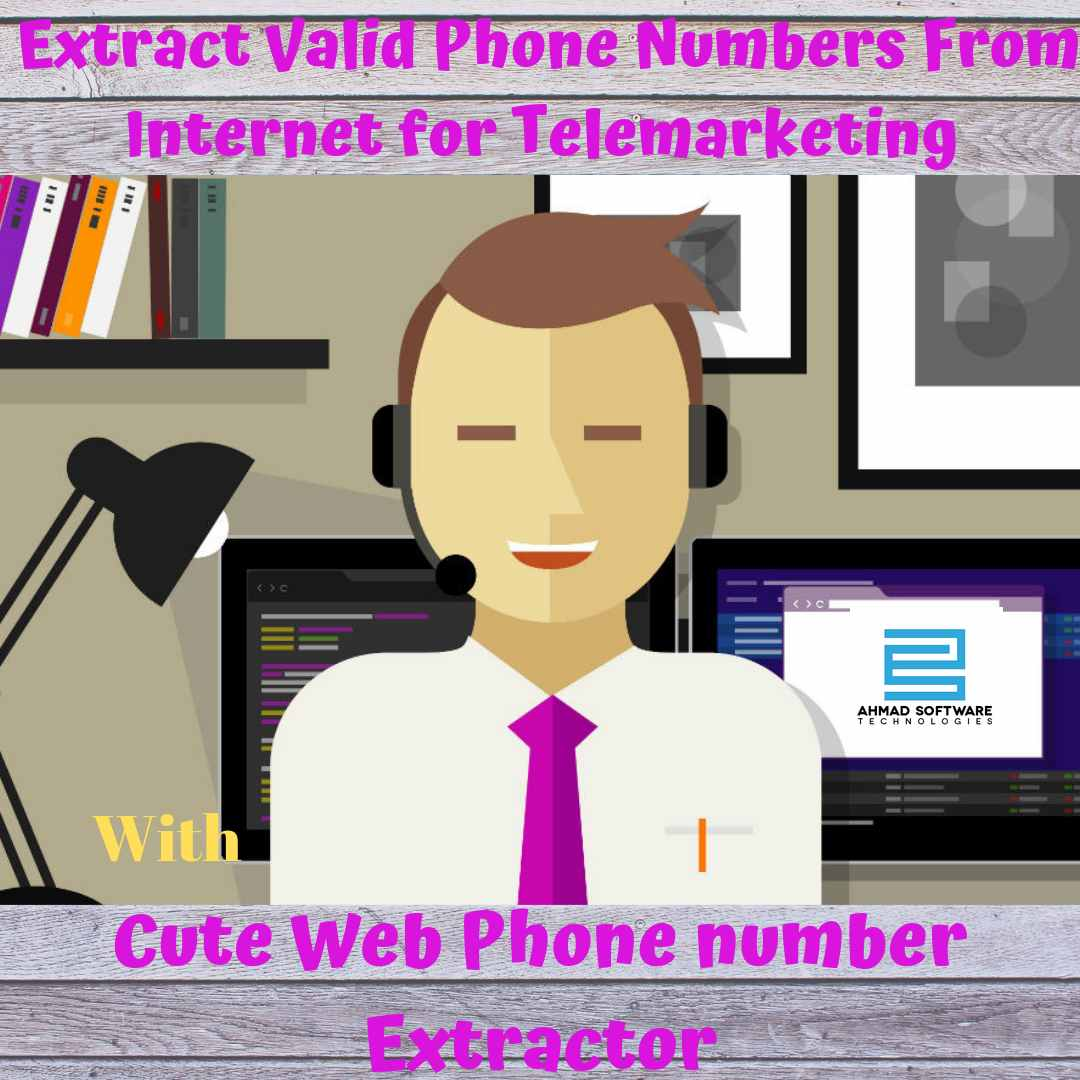 Cute Web Phone number Extractor