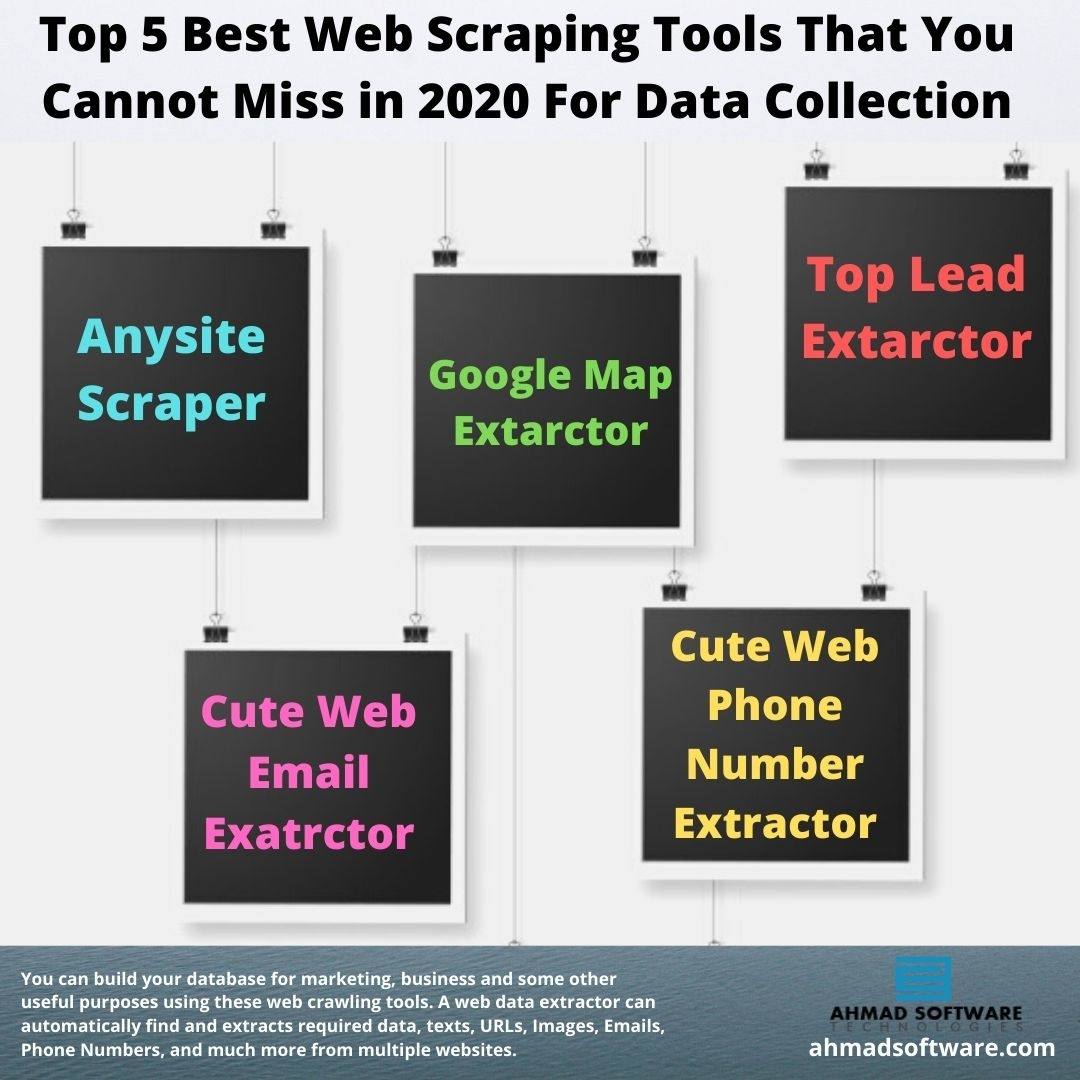 Top 5 Best Web Scraping Tools That You Cannot Miss in 2020