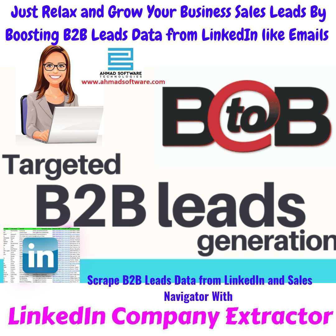 B2B Leads Data Scraper from LinkedIn
