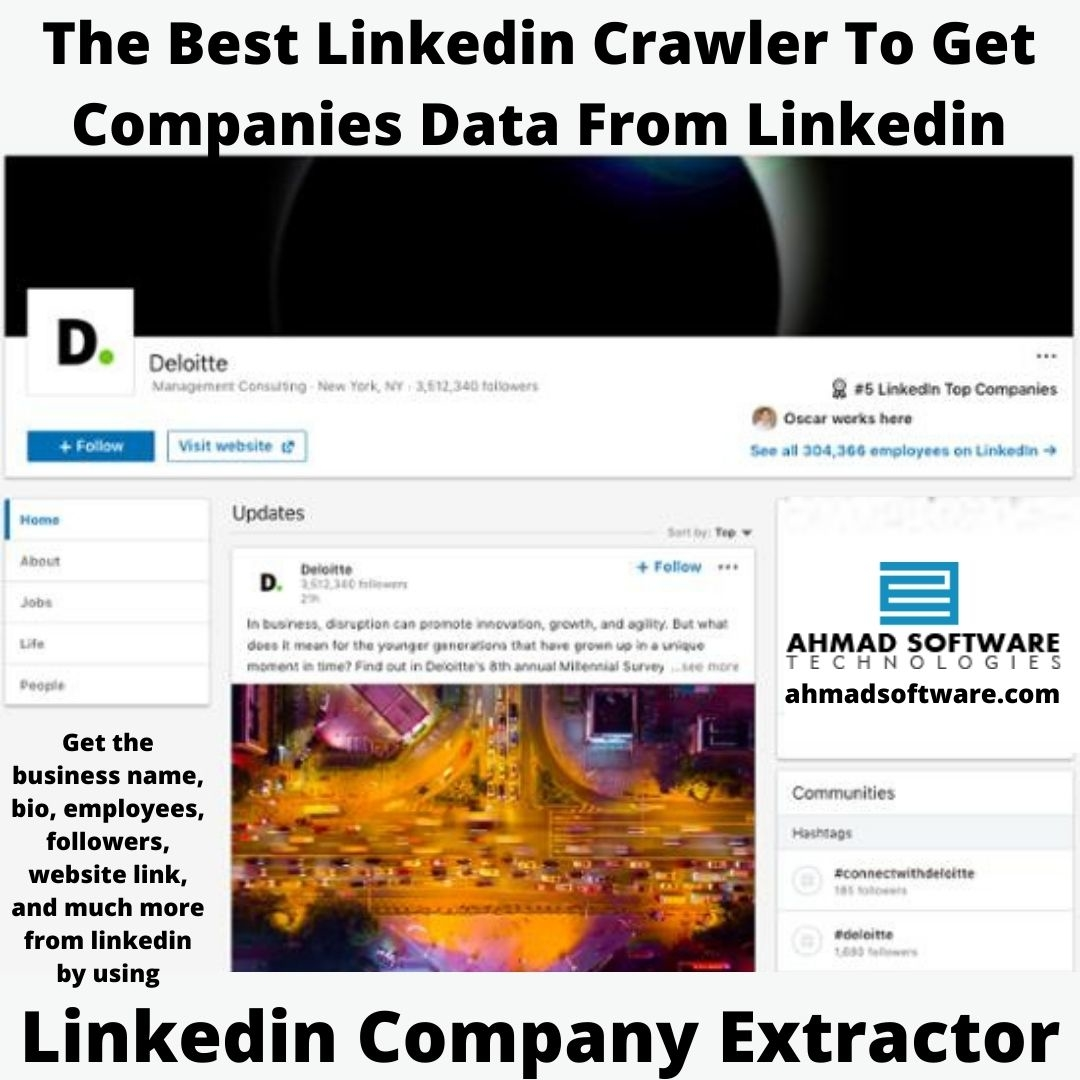 The Best Linkedin Crawler To Get Business Data From Linkedin
