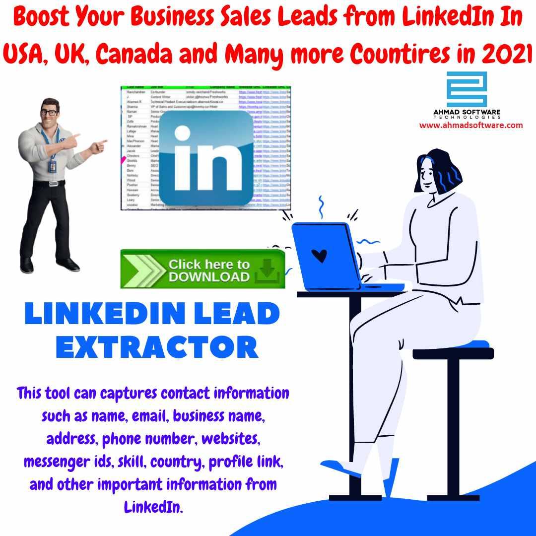 Best Recommended LinkedIn scraper