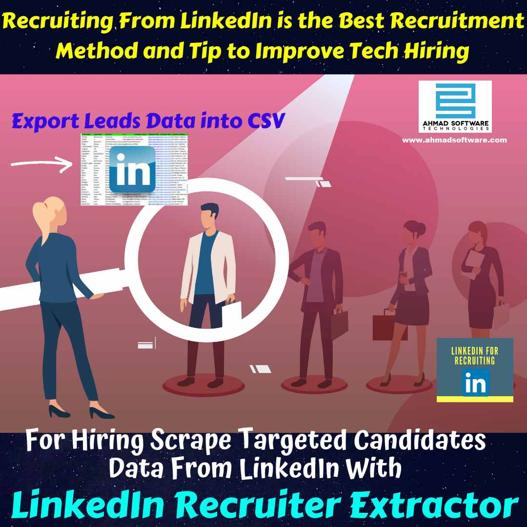 Recruiting From LinkedIn is the Best Recruitment Method in 2020