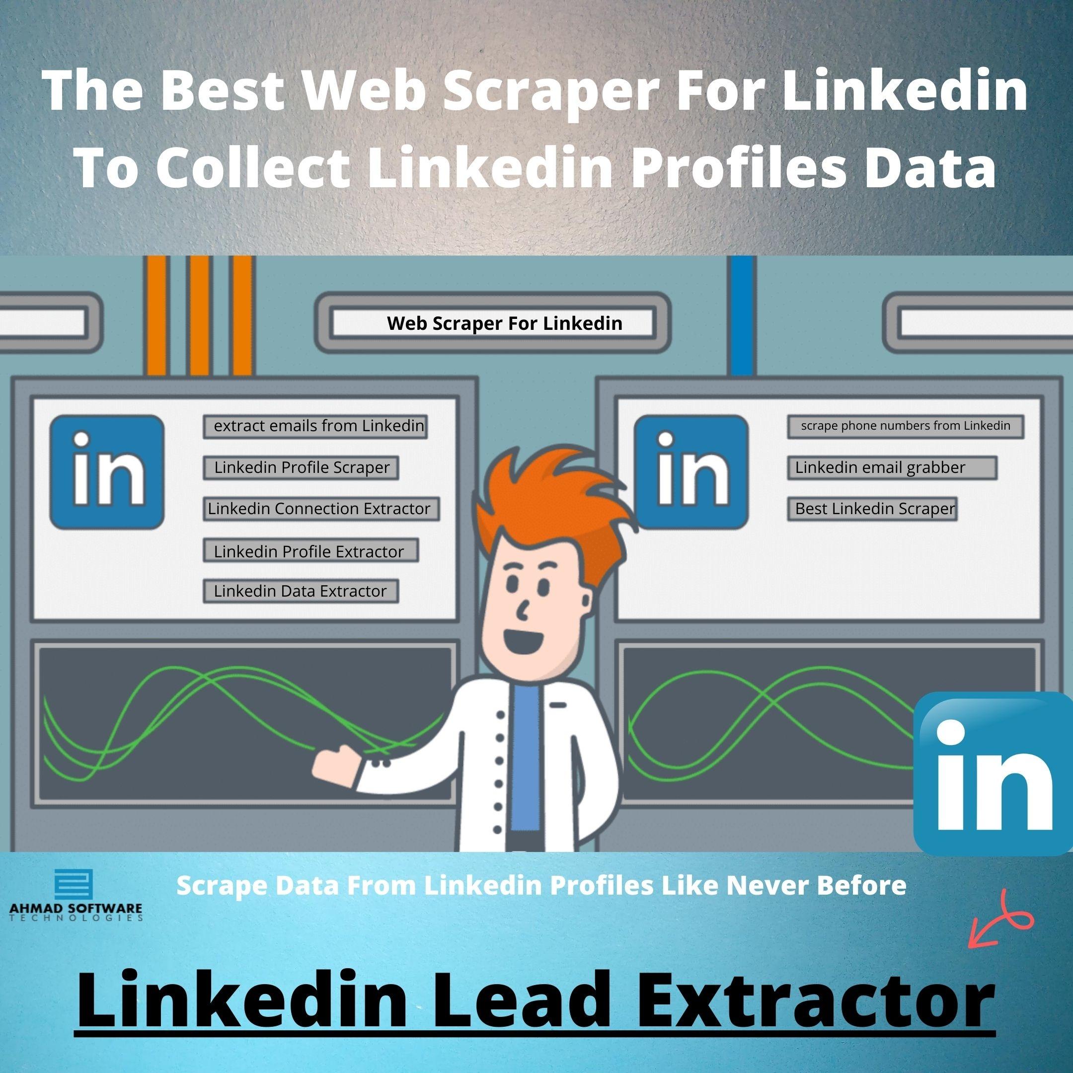 The Best Web Scraper For Linkedin To Collect Linkedin Profiles Data