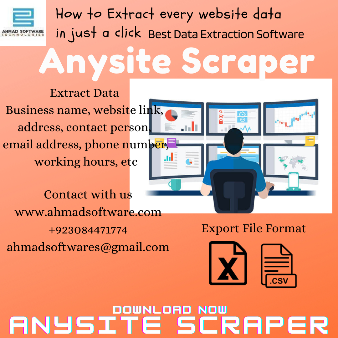 Best data extraction software to extract all websites data