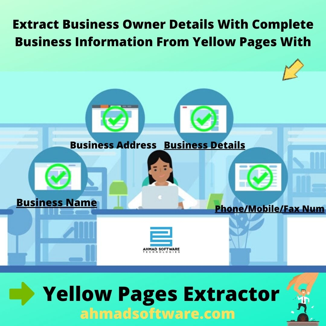 Scrap Business Owner Details From Yellow Pages