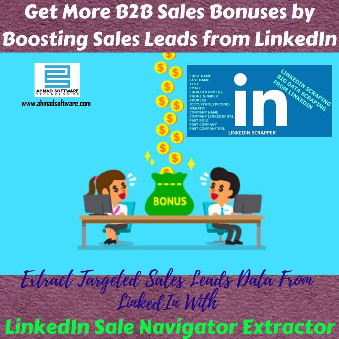 Boost quality sales lead from LinkedIn with LinkedIn Scraper