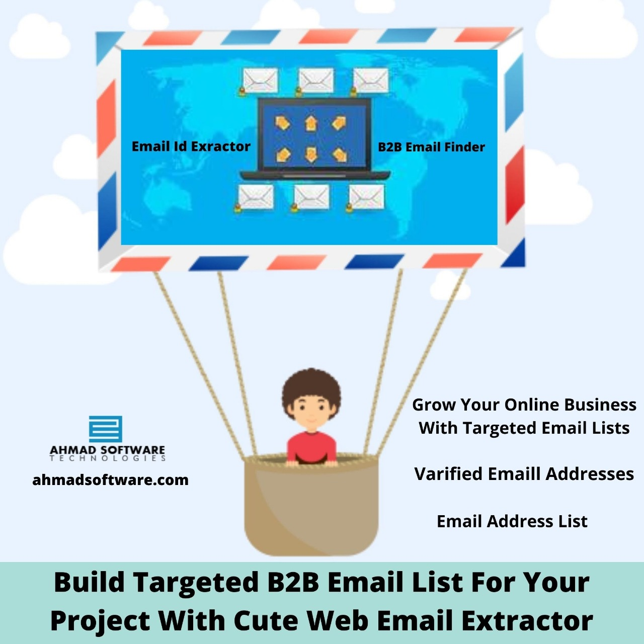 Build Targeted B2B Email List For Your Project