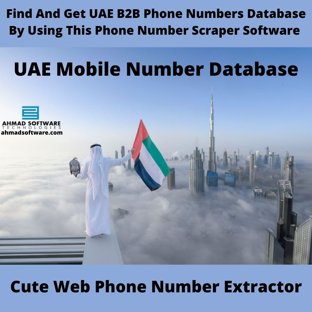 Find And Collect 1000's Of UAE Business Owners Phone Numbers in Minutes