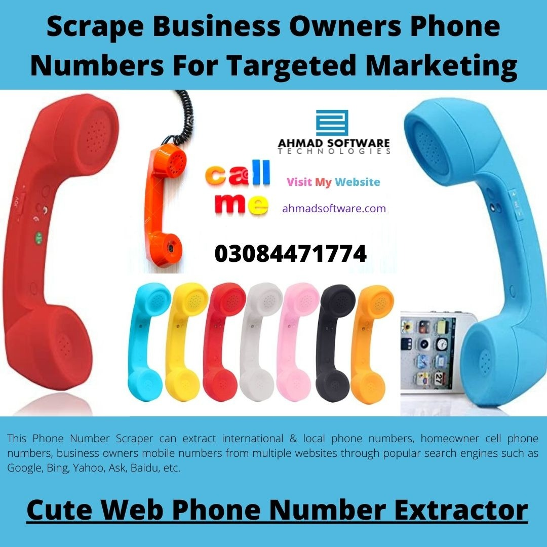 Collect Business Owners Phone Numbers For Targeted Marketing