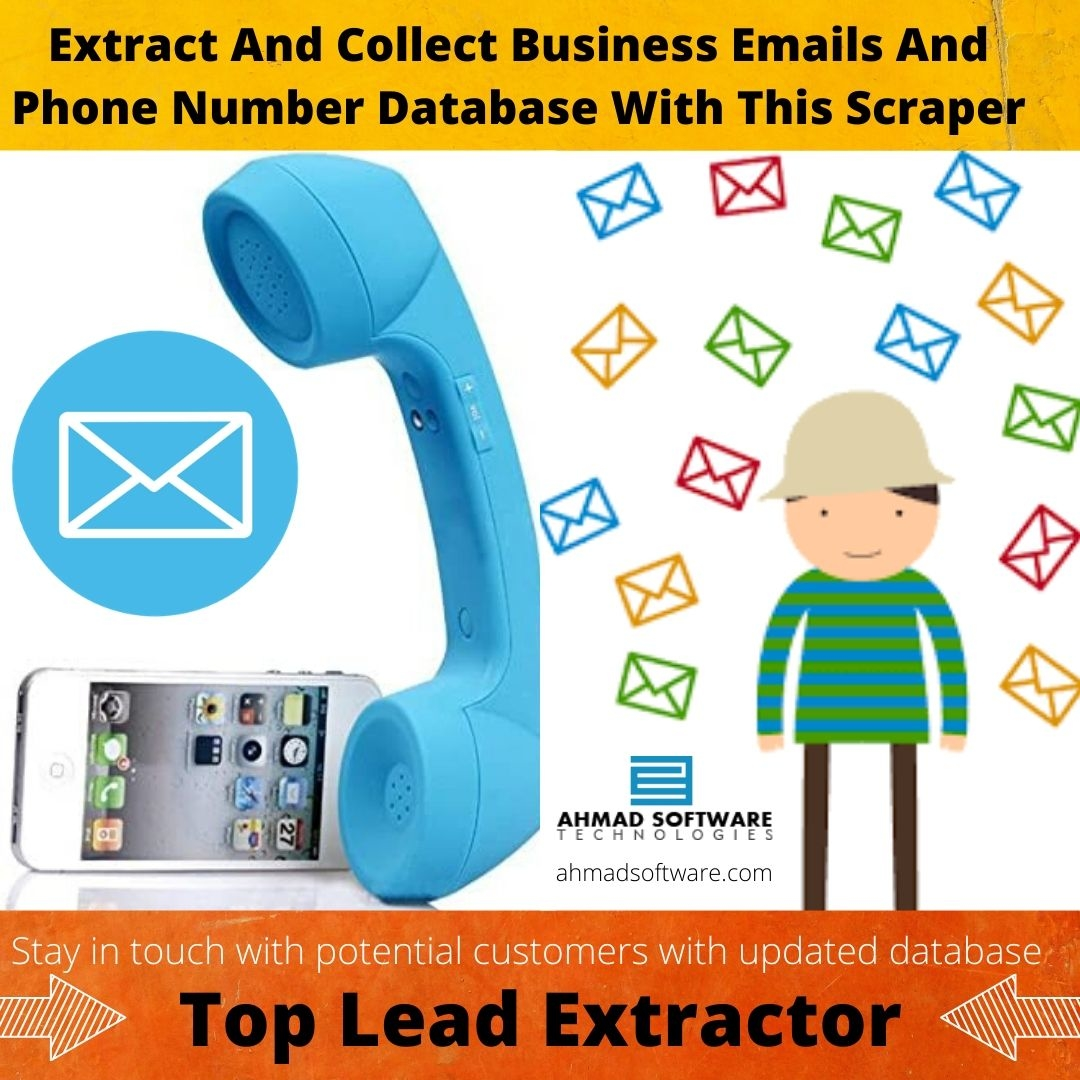 Collect Business Emails And Phone Numbers From Websites