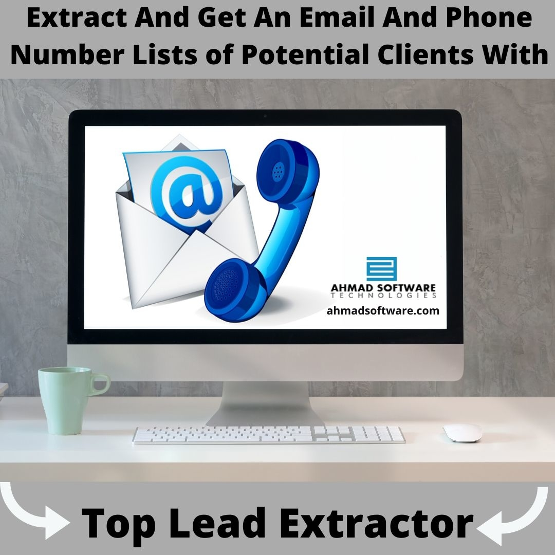 Collect An Email And Phone Number Lists of Potential Clients