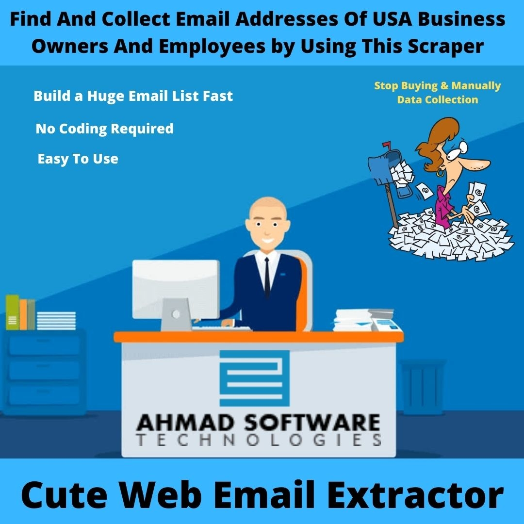 Find And Collect USA Business Owners Emails With Email Scraper