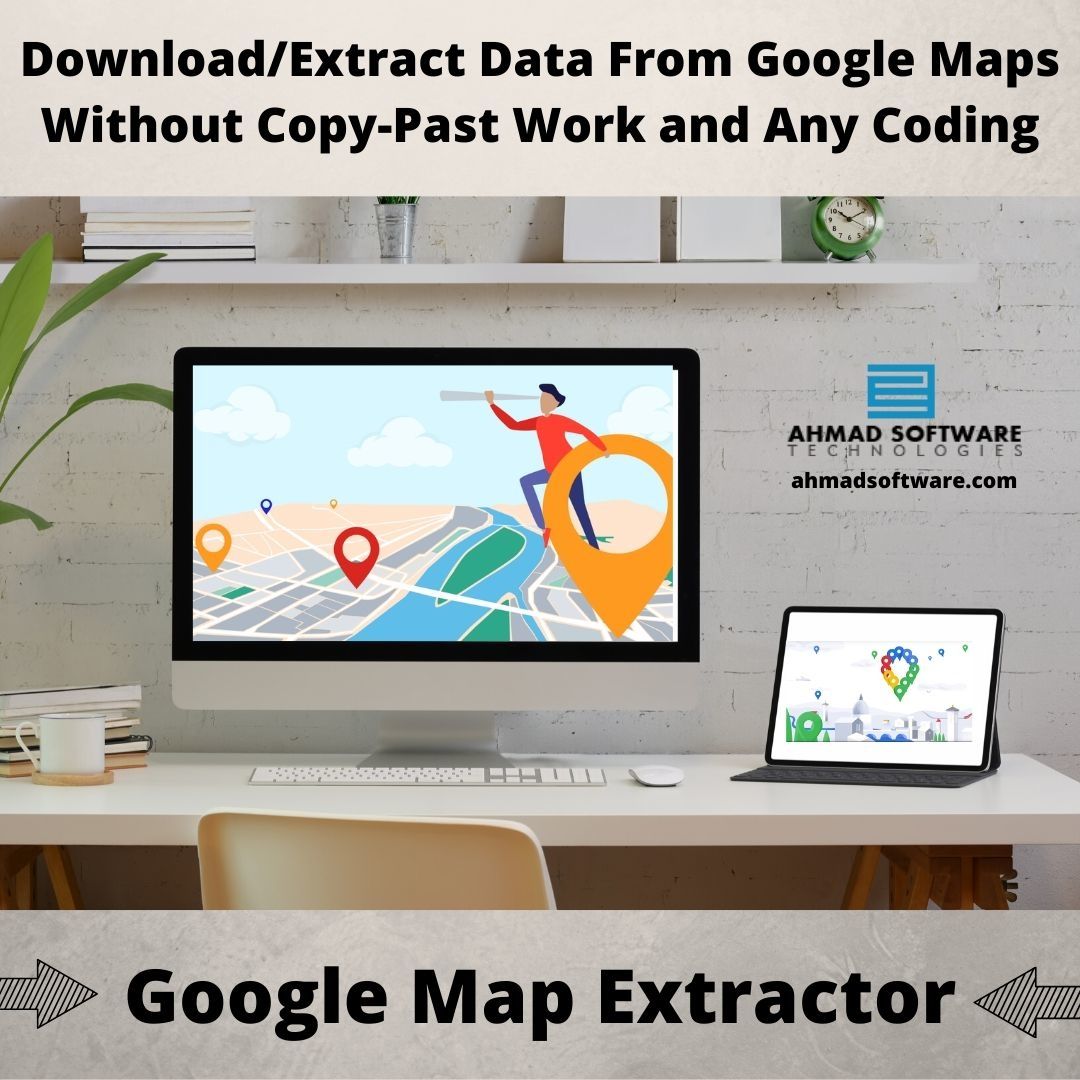 Download Data From Google Maps Without Copy Paste And Coding