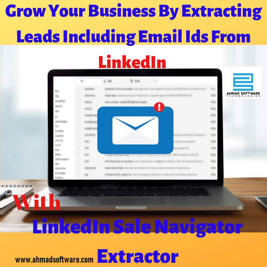 How to extract email IDs from LinkedIn
