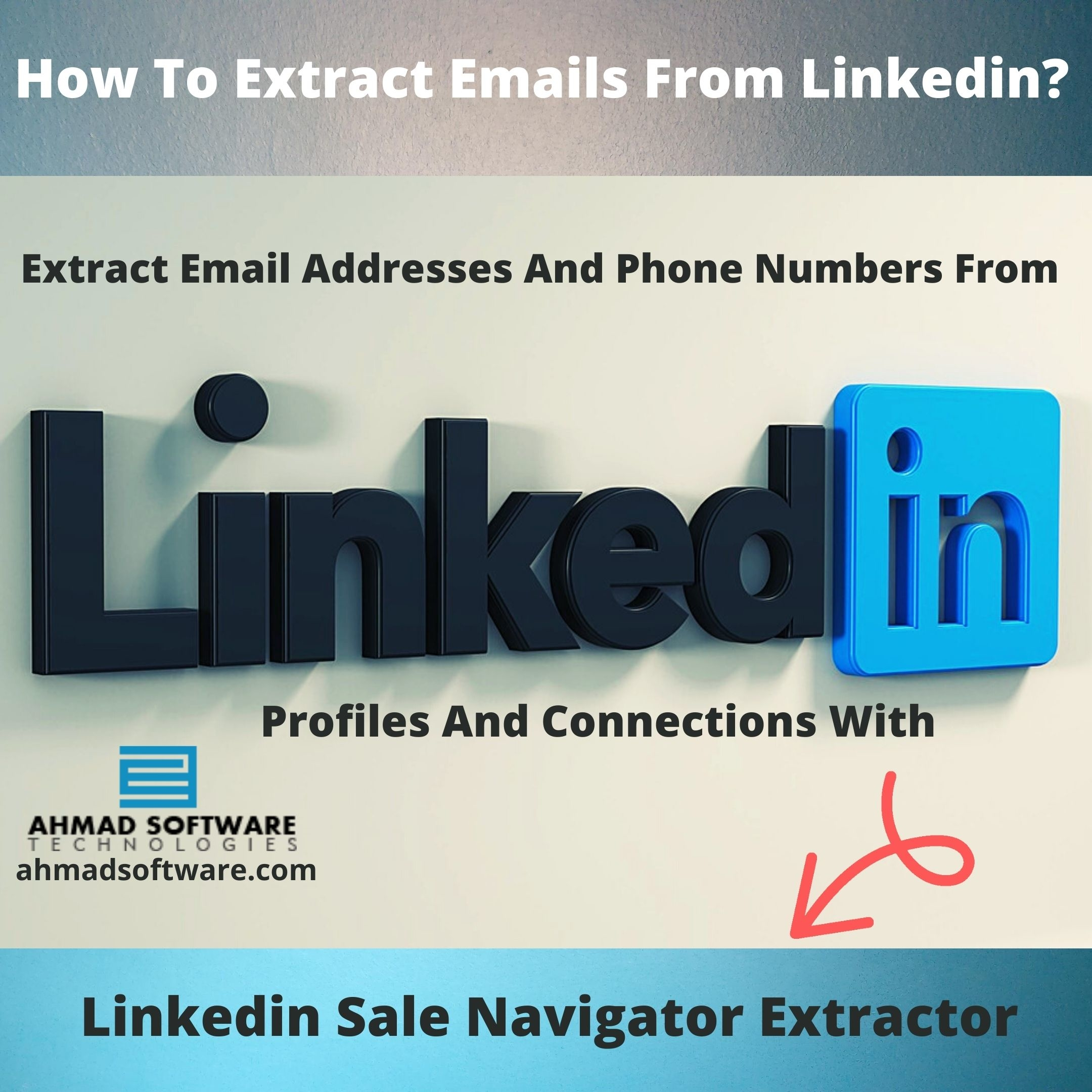 Extract Email Addresses From Linkedin Profiles