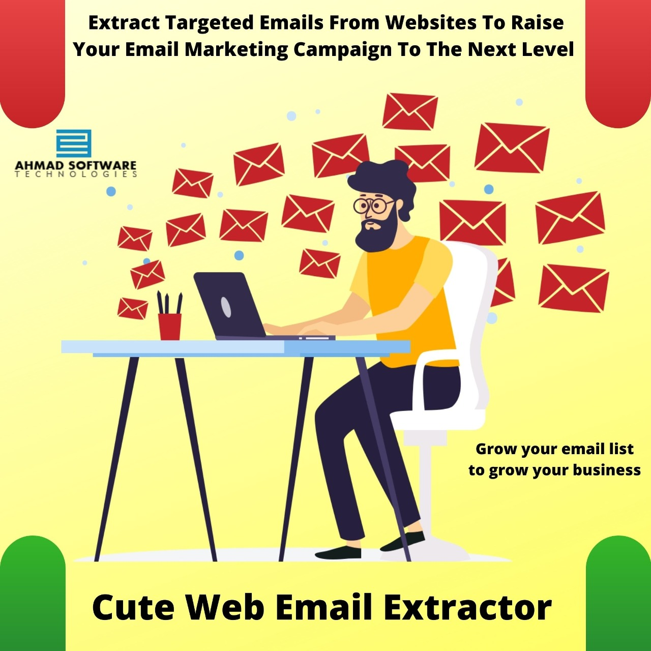 Extract Emails From Websites To Grow Business