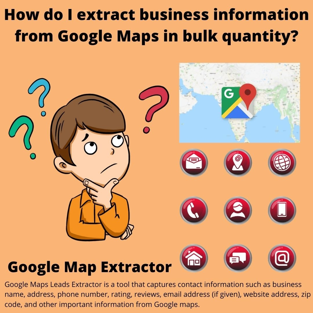 Extract Business Information From Google Maps In Bulk Quantity