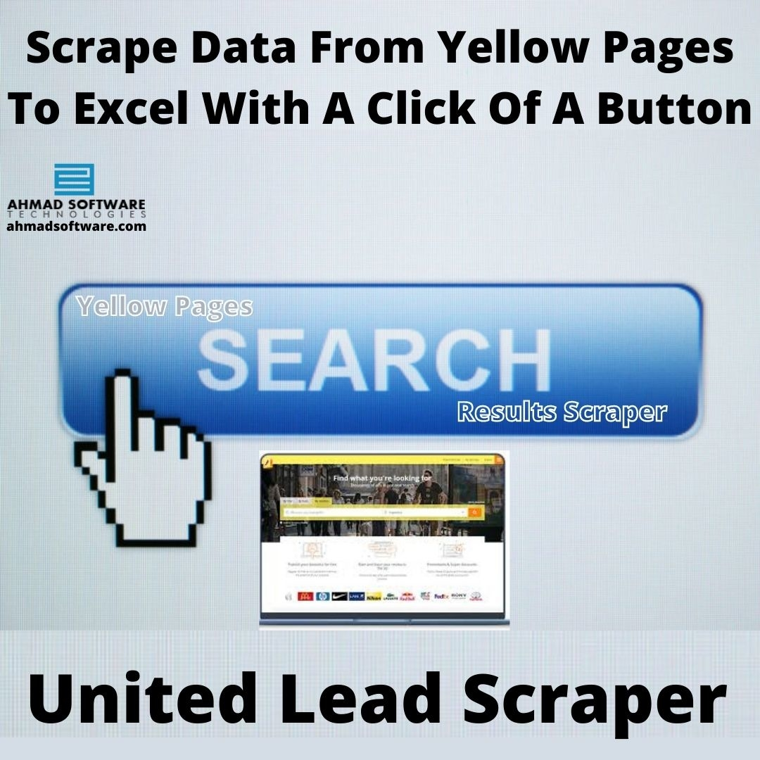 Extract & Export Data From Yellow Pages In Bulk With United Lead Scraper