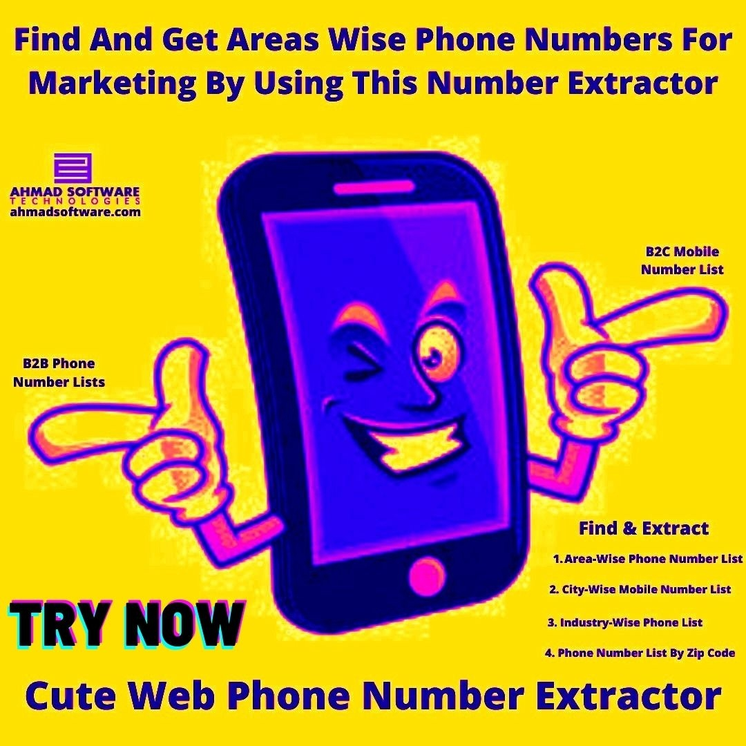 Find And Get Areas Wise Phone Numbers For Marketing With This Scraper
