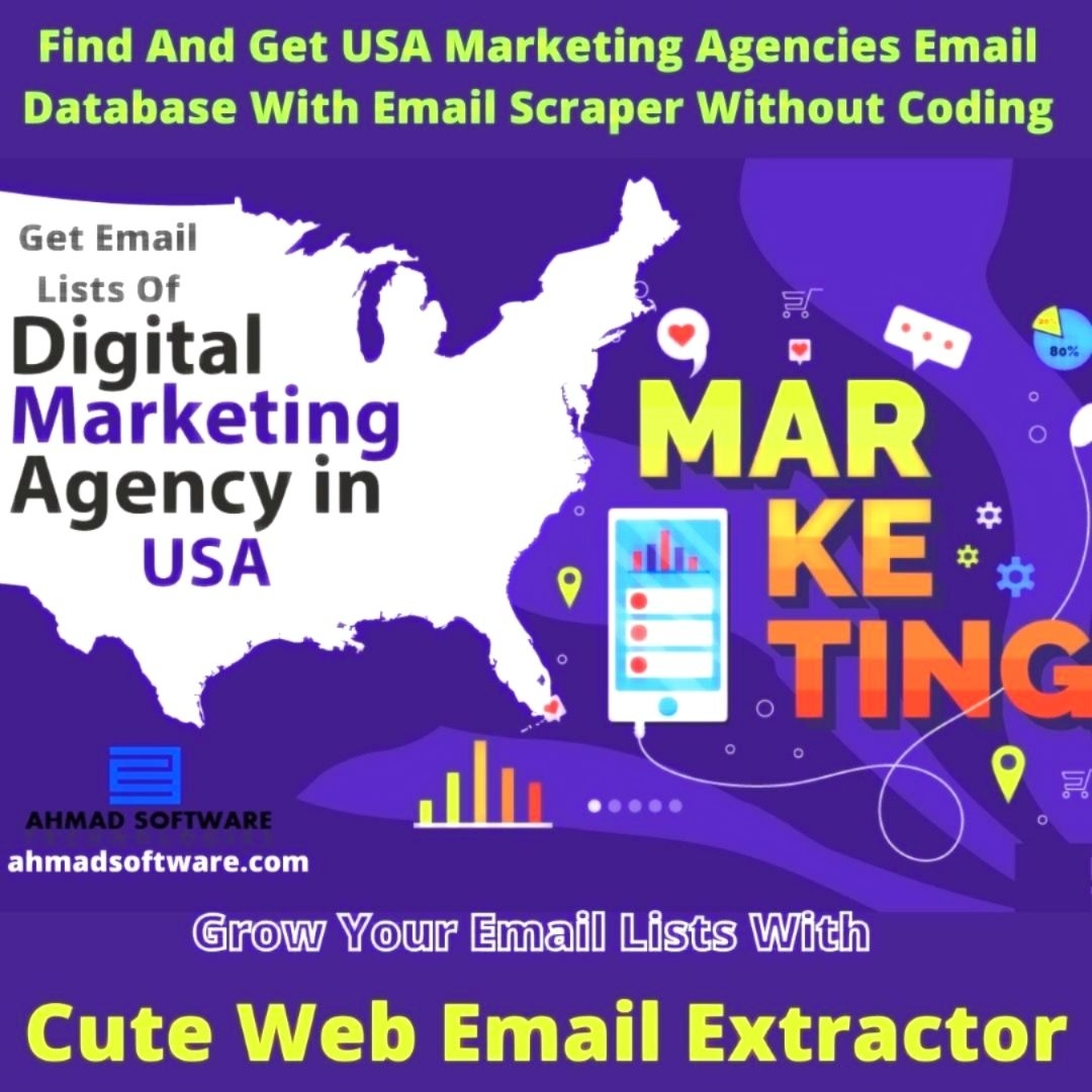 Find And Get US Marketing Agencies Email Database With Email Scraper