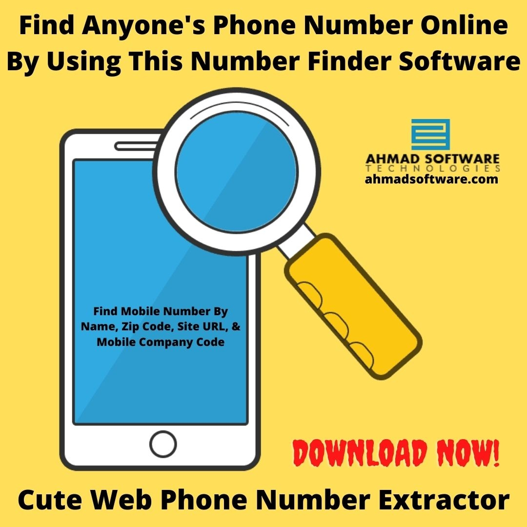 Find Anyone's Phone Number Online By Using Phone Number Scraper
