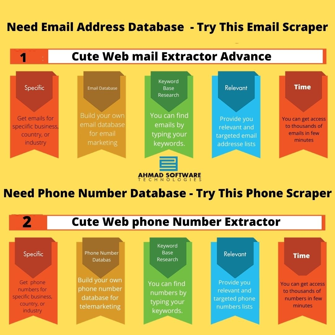 Find & Collect Business Emails And Phone Numbers From Websites Within Minutes