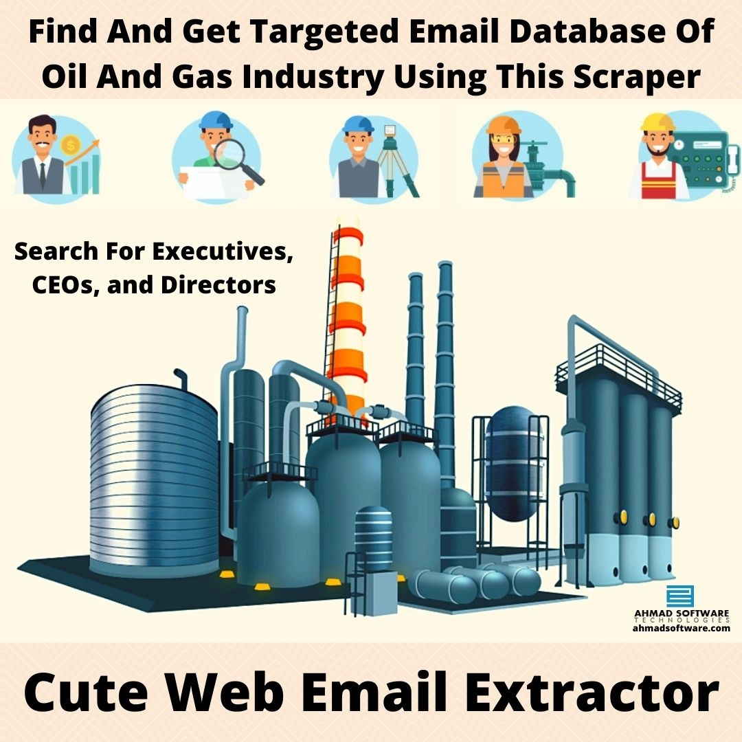 Find And Get Targeted Email Database Of Oil And Gas Industry
