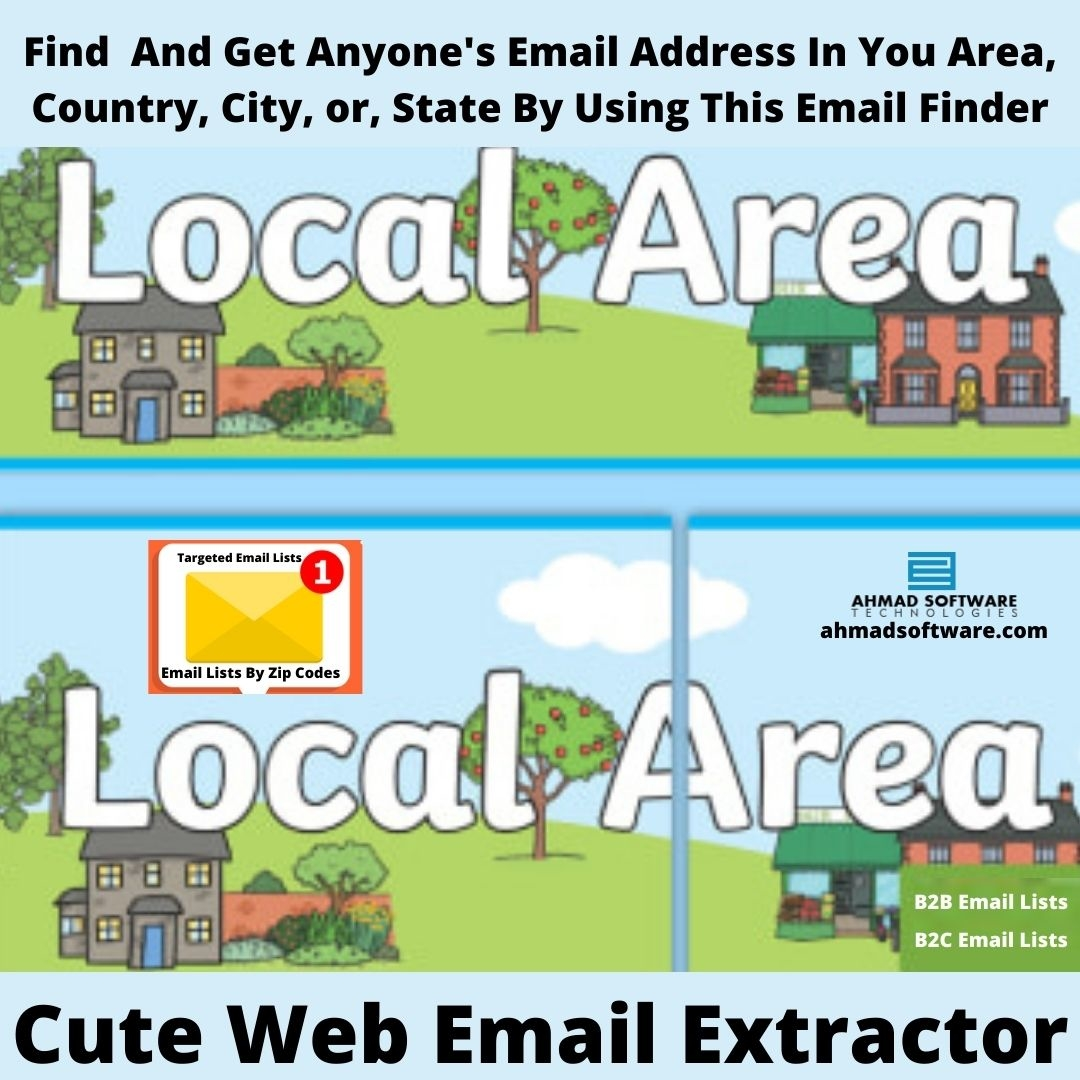 Find And Get Potential Customers Email Lists In Targeted Area