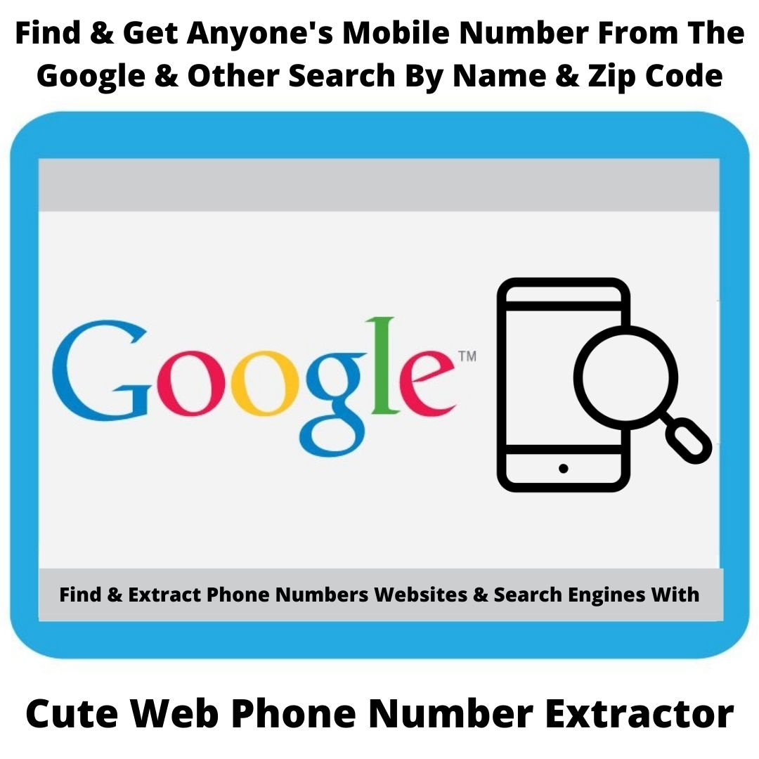 Find & Get Anyone's Mobile Number From The Internet By Name & Zip Code