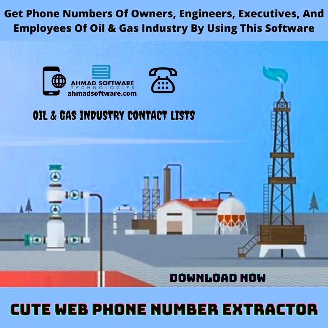 Find And Get Mobile Oil And Gas Industry Contact With Phone Number Finder