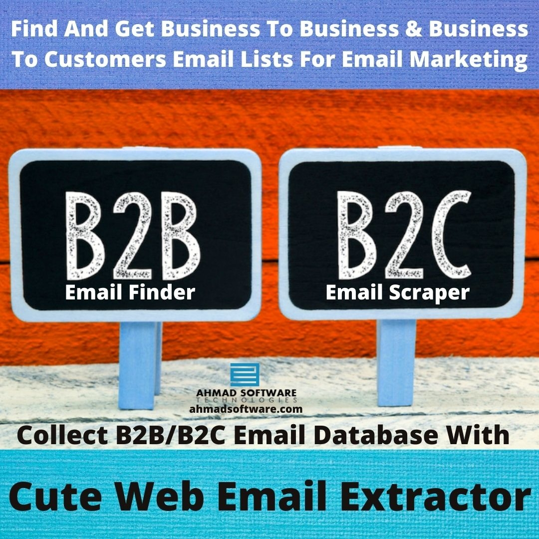 Find & Get Best B2B Mailing Lists By Using Cute Web Email Extractor