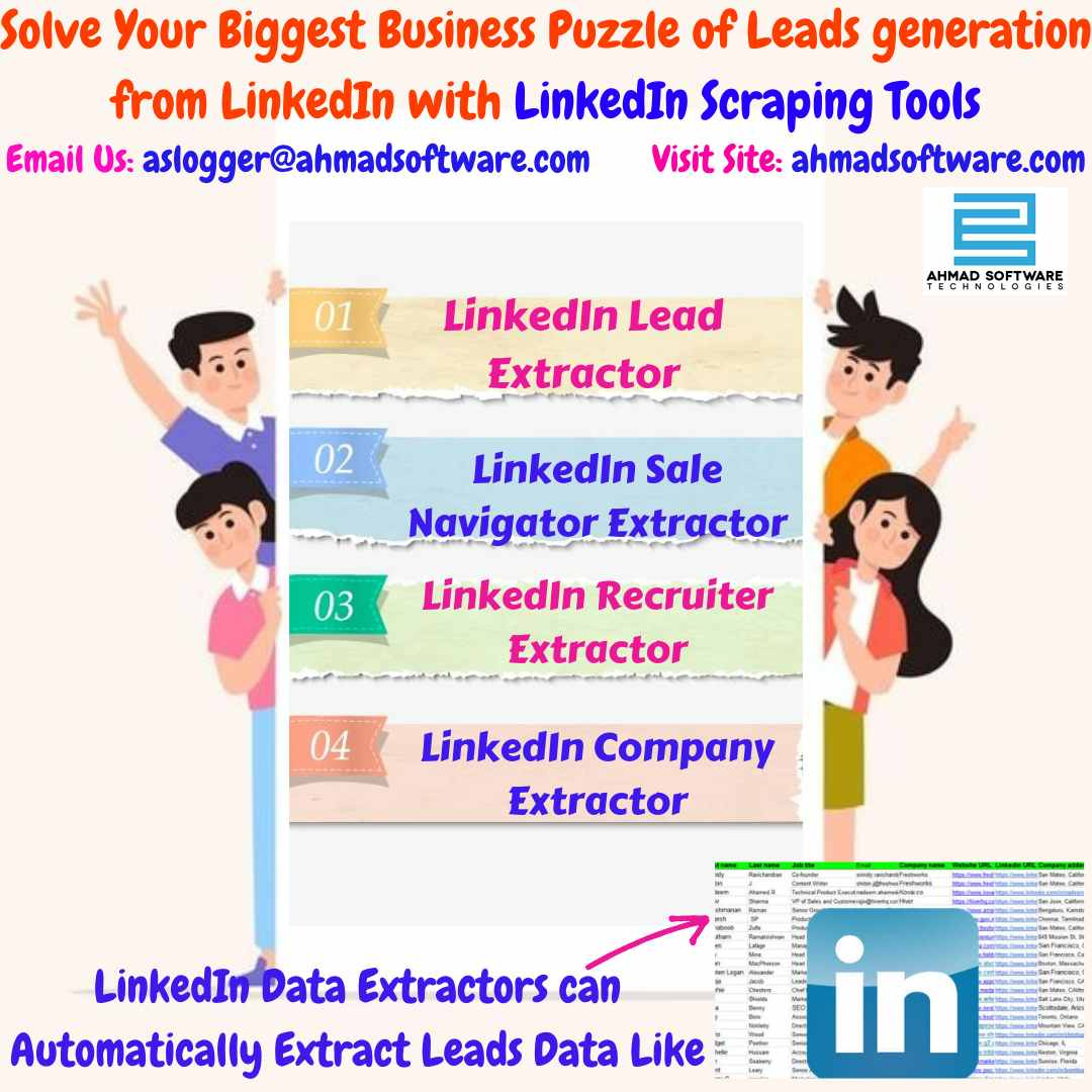 LinkedIn Scraping Tools - Get 200 Targeted Leads Daily on LinkedIn