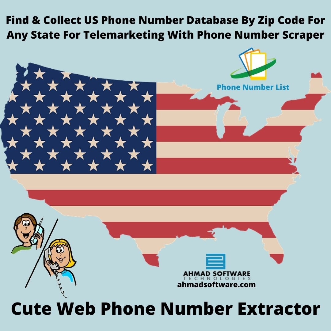 Get US Phone Number Lists For Any State From Different Websites