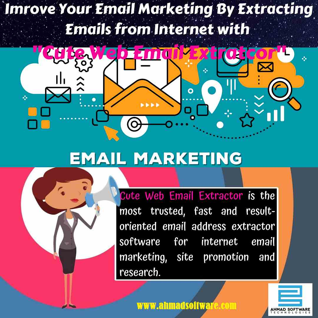 Get Valid Email Extractor for collecting emails for email marketing