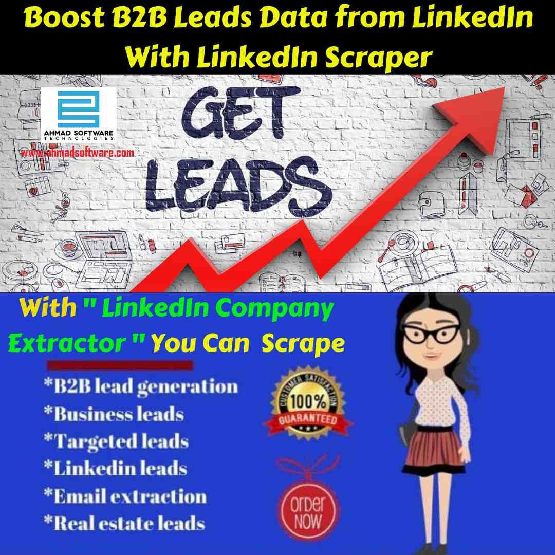 Get the best b2b leads data scraper from LinkedIn in 2020