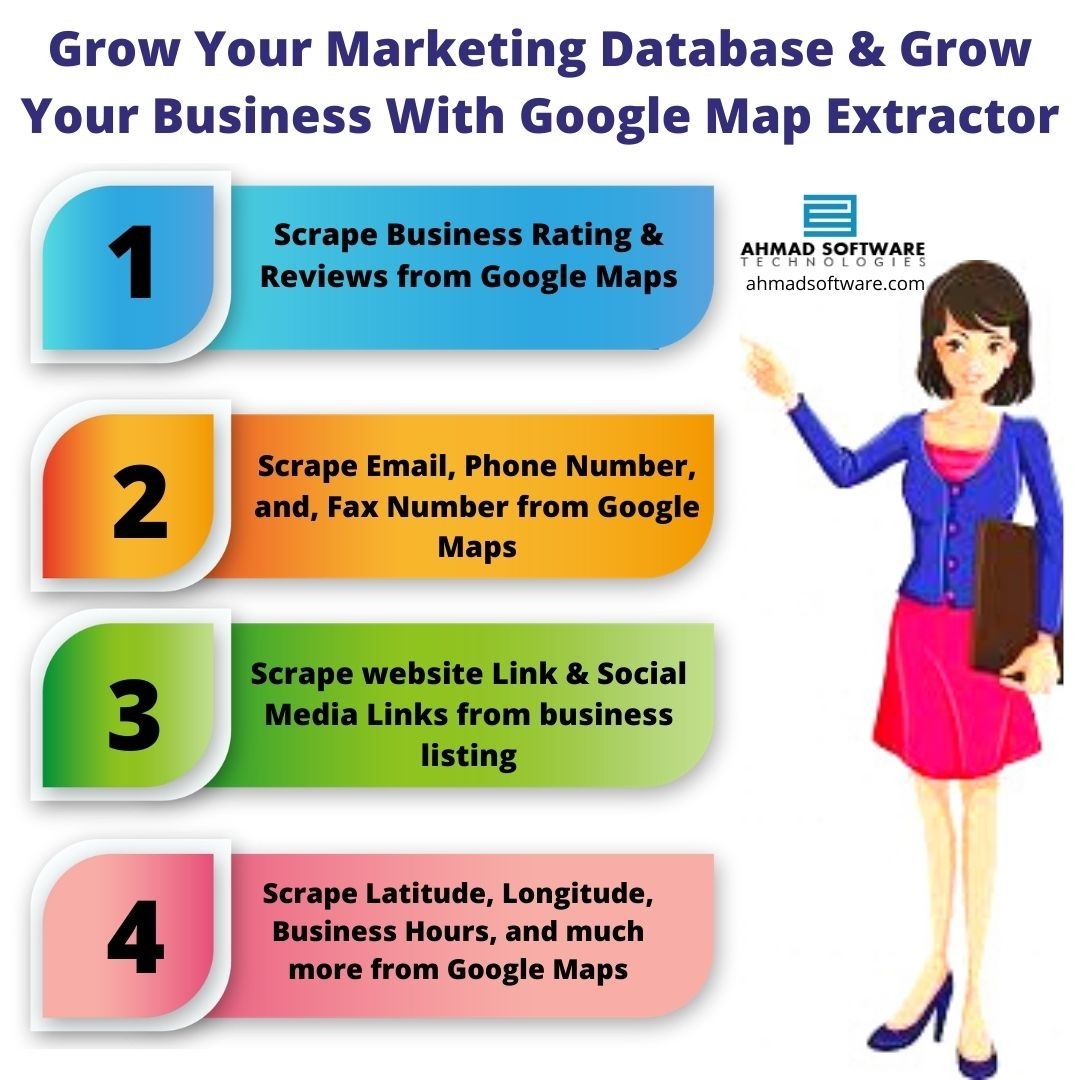 Grow Your Database and Grow Your Business With Google Map Extractor
