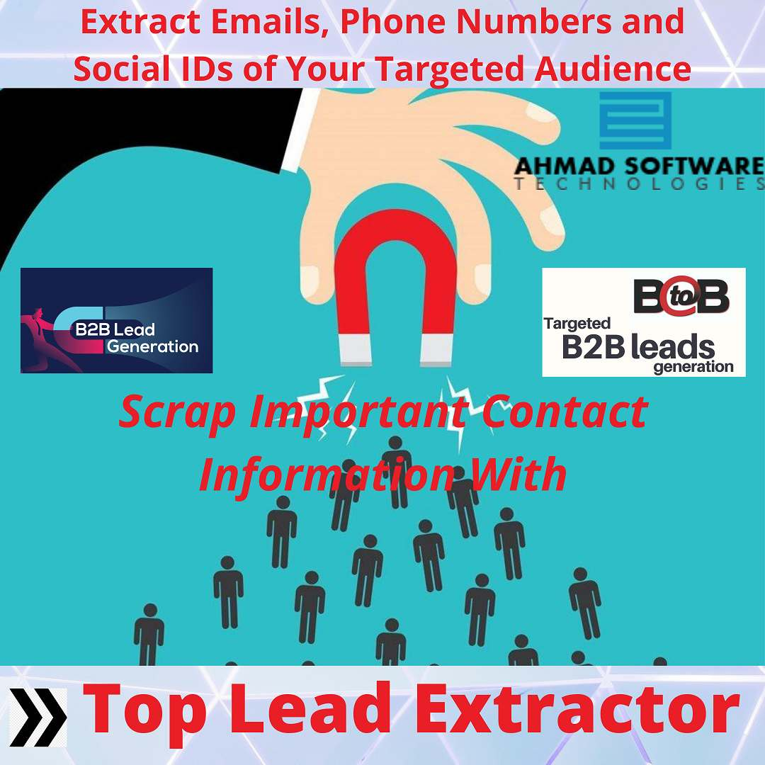 Grow your Leads with best Lead Extractor   Top Lead Extractor