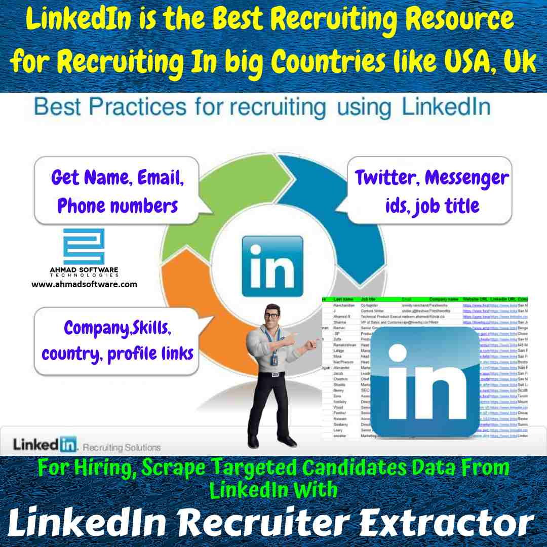 Hire from LinkedIn with LinkedIn Recruiter Extractor