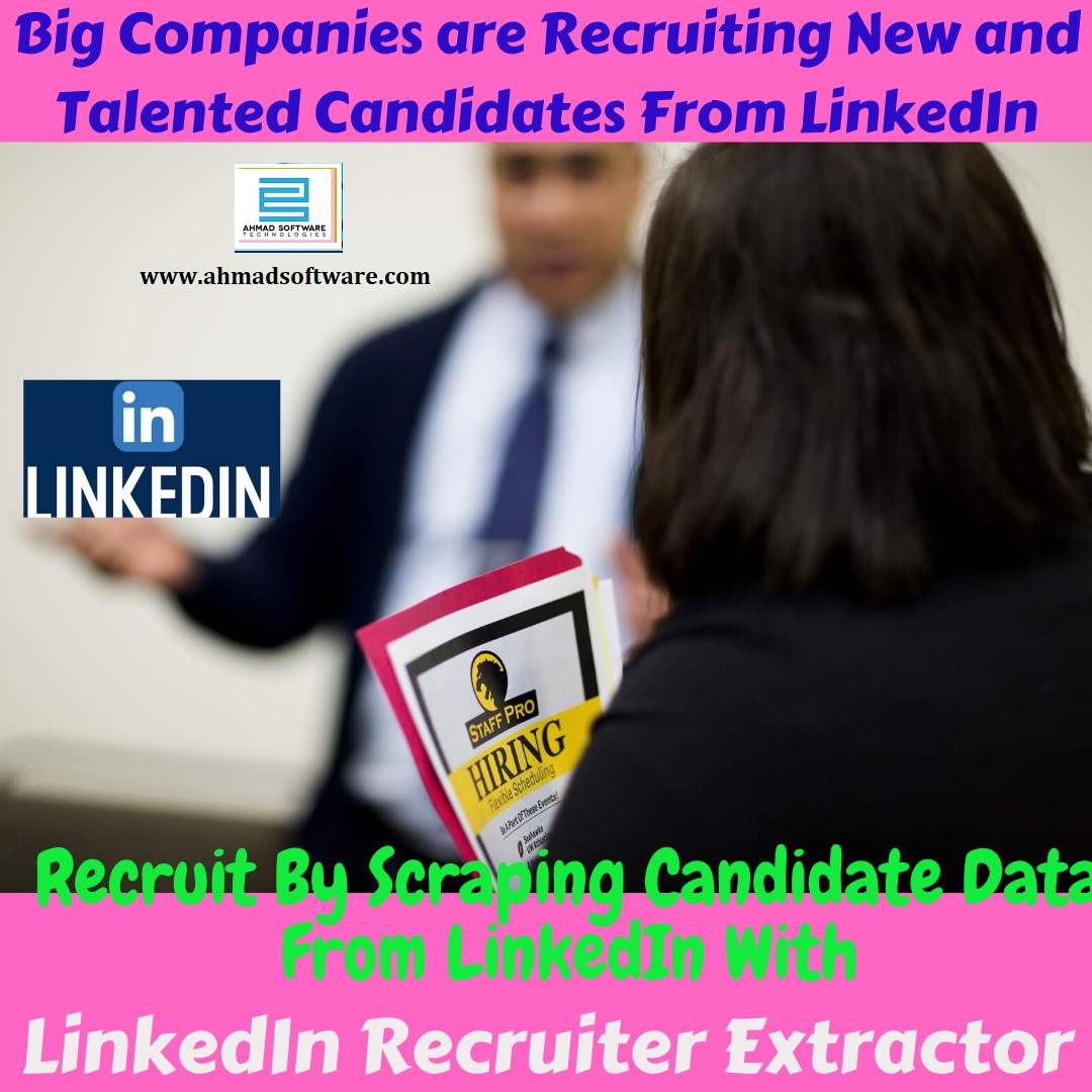 Big Companies like apple recruit candidates from LinkedIn