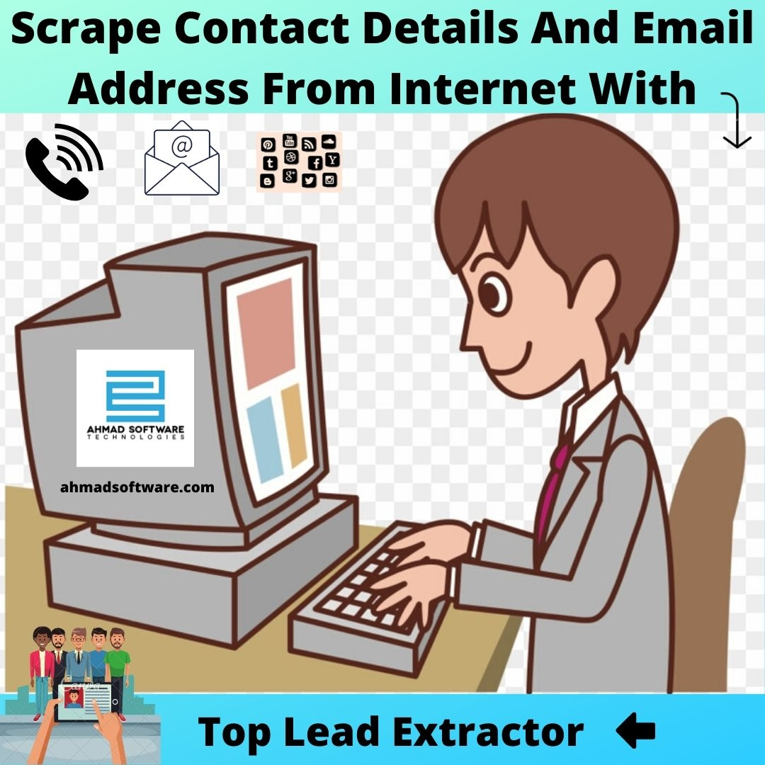 How to scrape contact information?