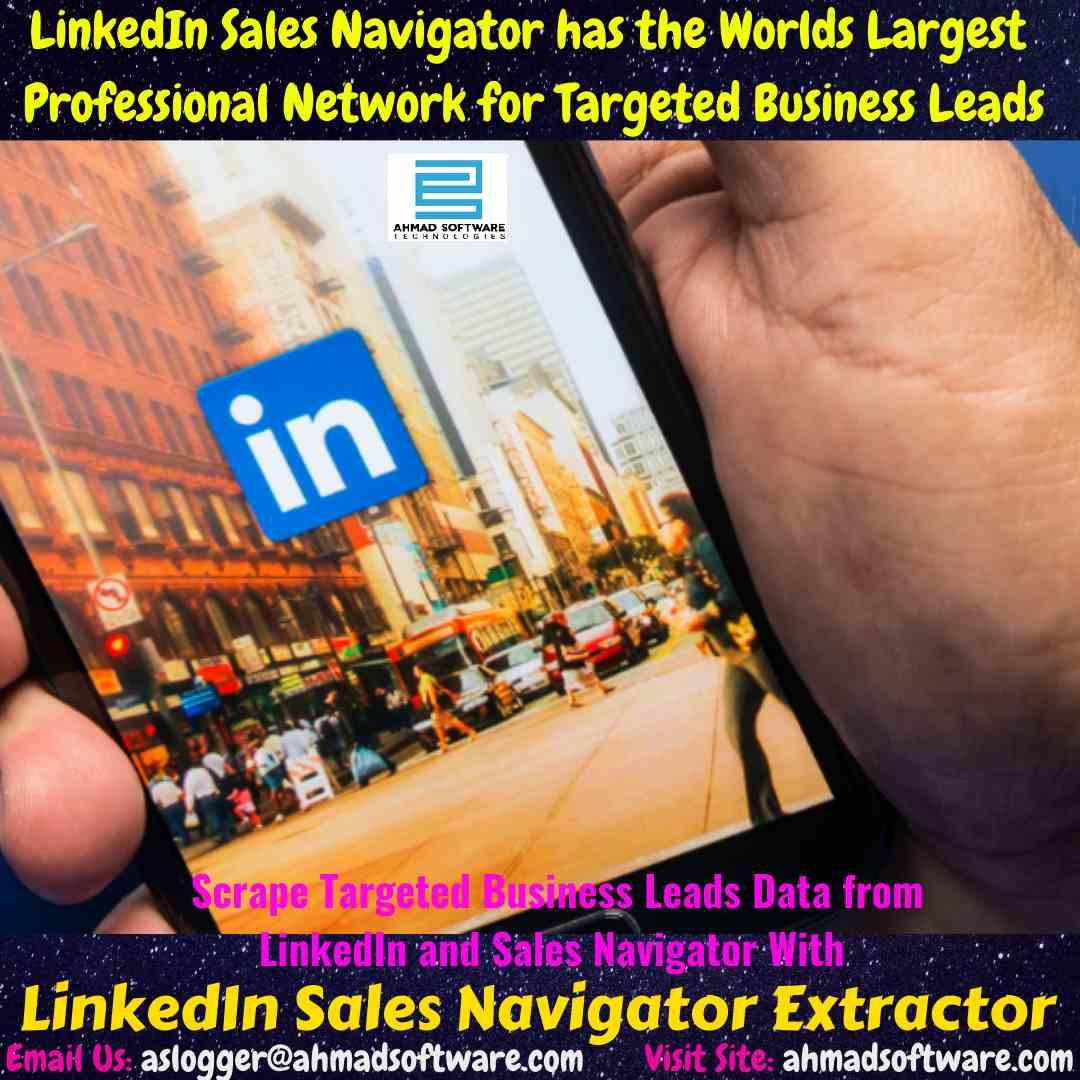 LinkedIn Data Scraper: How to use LinkedIn Sales Navigator for Leads?