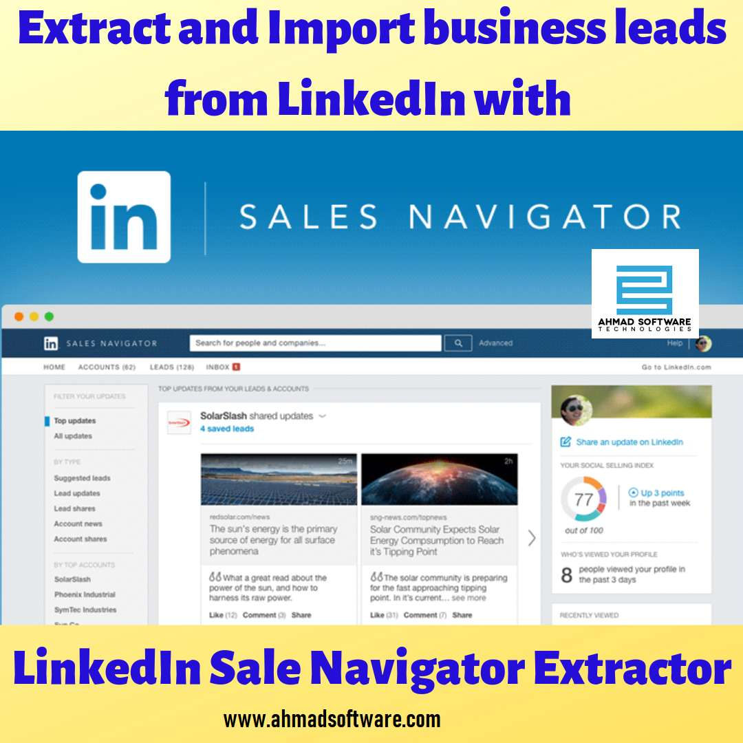 Import LinkedIn Leads