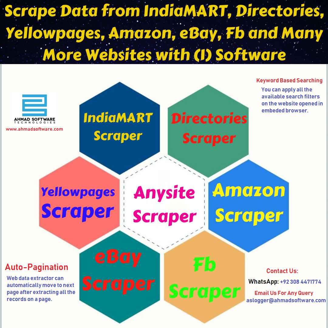 IndiaMART Data Scraper - Web Data Scraper - Amazon Data Scraper