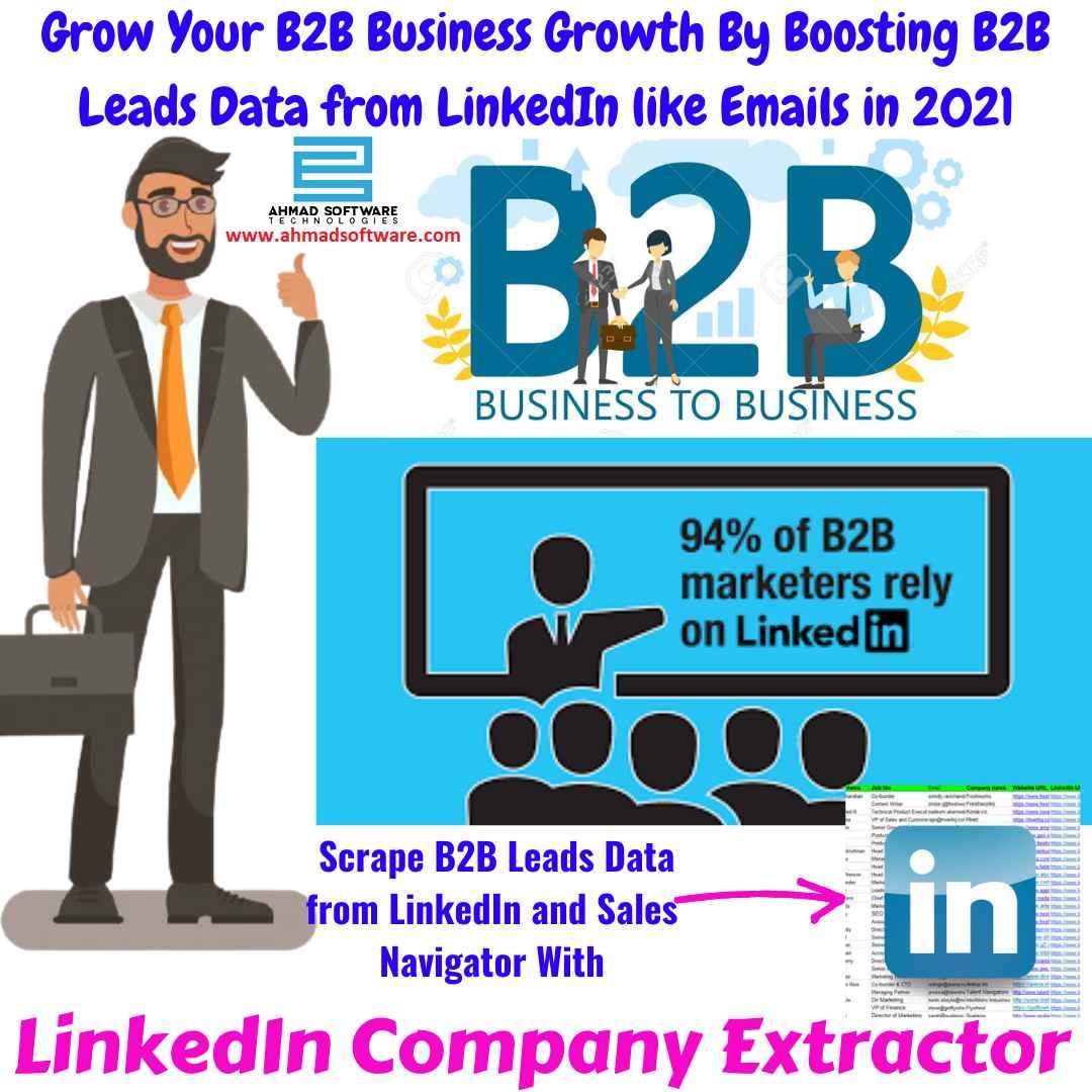 LinkedIn B2B Prospecting - LinkedIn Company Data Scraper
