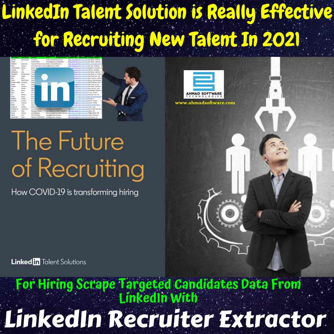 LinkedIn talent solution is really effective for recruiting in 2021