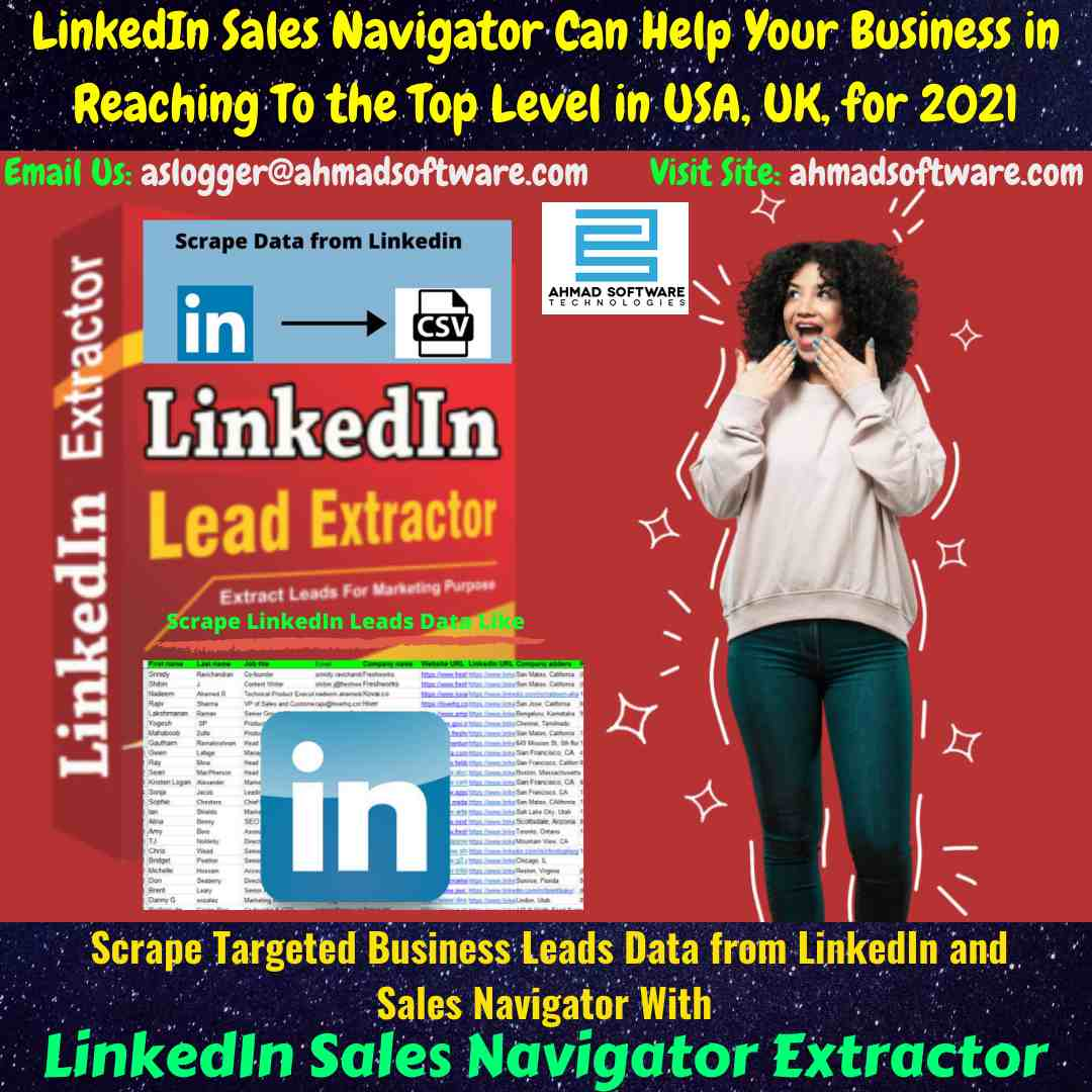 Use LinkedIn Sale Navigator Extractor for digital selling success