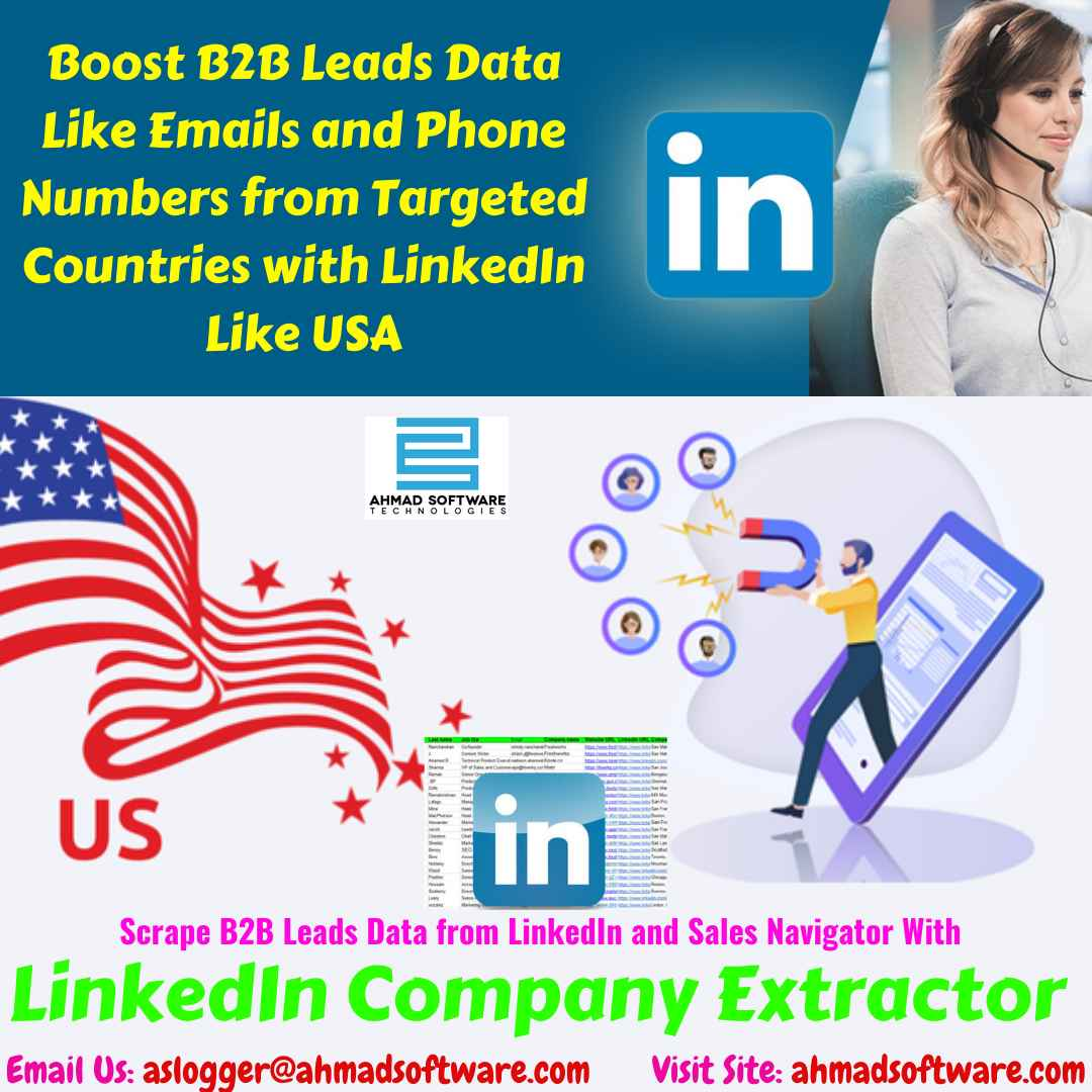 LinkedIn Sales Navigator for Better B2B Prospecting - LinkedIn Scraper