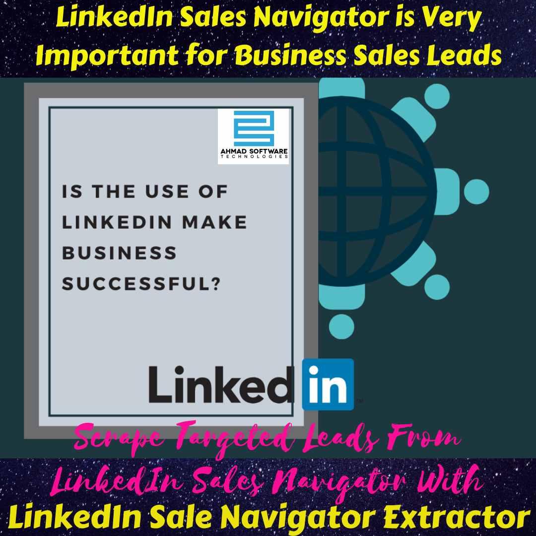LinkedIn Scraper - LinkedIn Sale Navigator is Best for Lead Generation